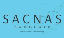 SACNAS Brandeis Chapter