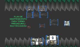 Copy of plan DE mantenimiento para torno y fresadora