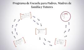 Programa de Escuela para Padres