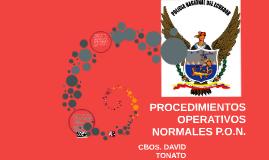 PROCEDIMIENOPERATIVOS NORMALES P.O.N.