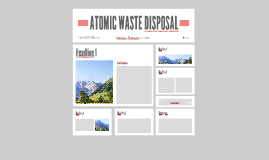 ATOMIC DISPOSAL
