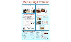 TKR_AP Bio- Evolution 4:  Measuring Evolution