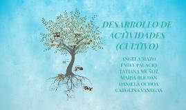 DESARROLLO DE ACTIVIDADES (CULTIVO)