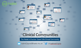 QUEST TSC Clinical Communities Presentation