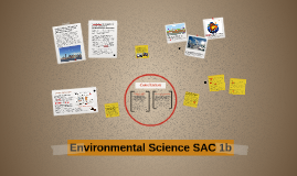 Environmental Science SAC 1b