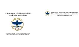 Curso-Taller para la Formación Básica de Mediadores