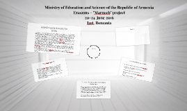 Ministry of Education and Science of the Republic of Armenia
