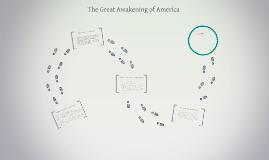 The Great Awakening of America