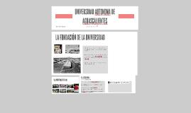 UNIVERSIDAD AUTONOMA DE AGUASCALIENTES