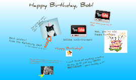 Copy of Prezi Meeting for a digital birthday card