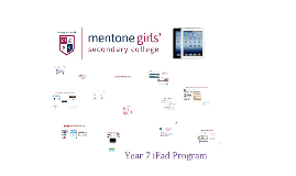 2017 iPad Program @ M.G.S.C.