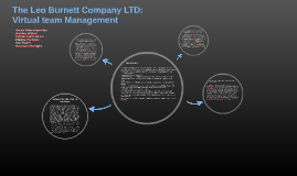 Copy of The Leo Burnett Company: Virtual team management