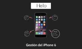 Gestión del iPhone 6