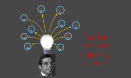 Top Ten Inventions of the Past 25 Years