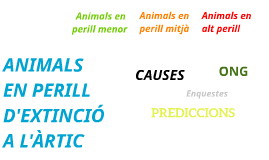 Copy of ANIMALS EN PERILL D'EXTINCIÓ A L'ÀRTIC