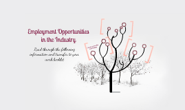 Employment Opportunities in the Industry
