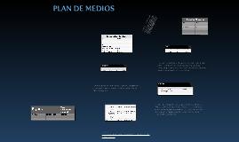 Plan de Medios - Sensor de Pico y Placa