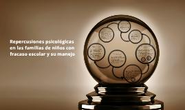 Copy of Repercusiones psicológicas en las familias de niños con frac