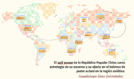 El soft power como estrategia