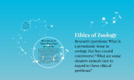 Copy of Ethics of Zoology