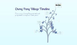 Copy of Chong Pang Village Timeline