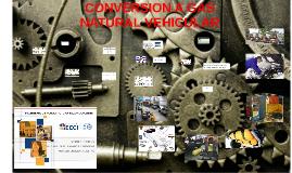 CONVERSION A GAS NATURAL VEHICULAR