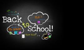 Copy of Copy of Back To School Night Presentation