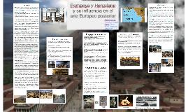 Copy of Pompeya y Herculano y su influencia en el arte Europeo posterior