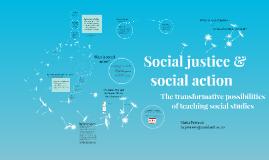 Social justice in social studies