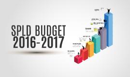 SPLD Budget 16-17