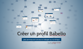 Créer un profil Babelio