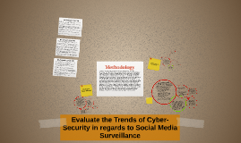 Evaluate the Trends of Cyber-Security in regards to Social M