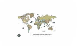 Compétition du marché