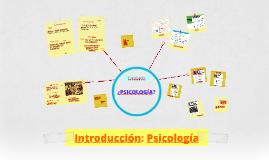 Copy of Introducción: Psicología