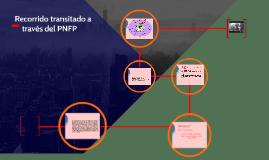 Recorrido transitado a través del PNFP
