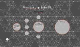 Principalship Entry Plan