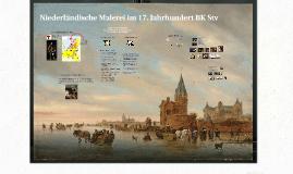 Niederländische Melerei im 17. Jahrhundert