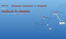 Processo de produção de Aluminio