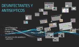 Copy of DESINFECTANTES Y ANTISEPTICOS