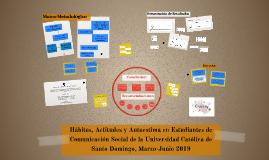 Hábitos, Actitudes y Autoestima en Estudiantes de Comunicaci