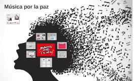 Música por la paz