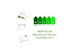 Presentación Módulo Viviendas 2013