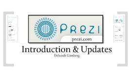 Prezi - Introduction and updates
