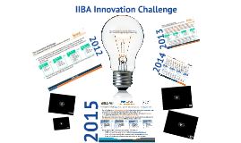 IIBA Italy Innovation 2015