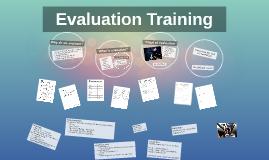 Evaluation Training