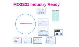 MO3S31 Industry Ready