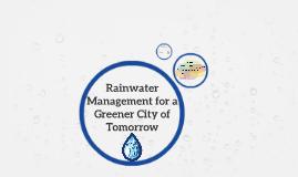 Rainwatermanagement
