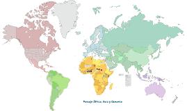 Paisaje África, Asia y Oceanía