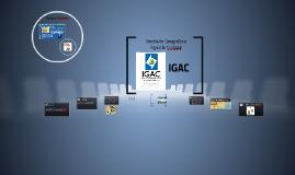 Instituto Geográfico IGACAgustín Codazzi