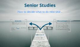 Senior Studies